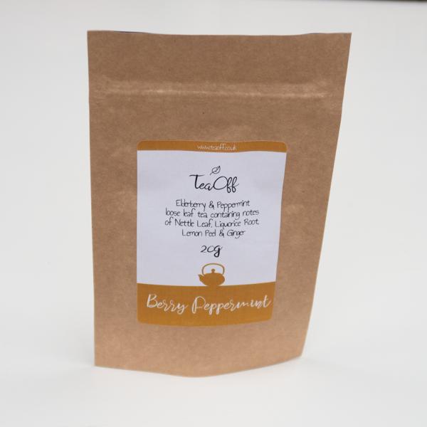 Berry Peppermint Tea Pouch