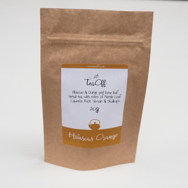Hibiscus Orange Tea Pouch