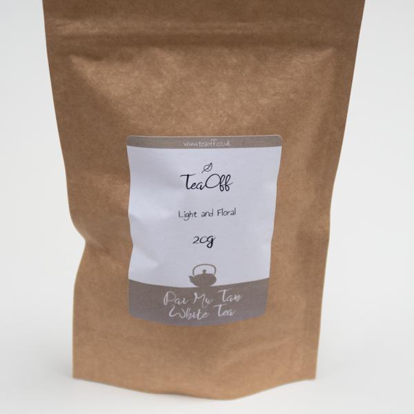 White Tea Pouch